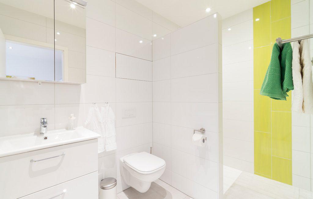 Badezimmer | Classic Boarding Apartment myBoardinghouse Halle Saale Peißen