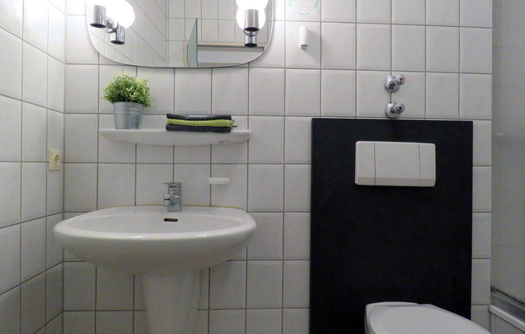 Badezimmer | Premium Boarding Apartment myBoardinghouse Aachen Alsdorf